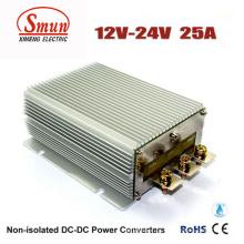 Преобразователь постоянного тока 12В 24В 25А 600 Вт Водонепроницаемый источник питания