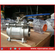 Forged Stainless Steel Thread Floating Ball Valve