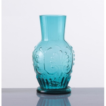 Hand Made Blue Water Glass Garrafa Projetada Exclusiva