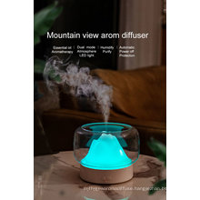 Home Appliances 400ml Water Electric Room Scent Diffusers Colorful Night Light Essential Oil Aroma Diffuser