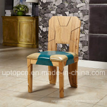 fashion Wooden Cafeteria Furniture Chair with Optional Double Color (SP-EC870)