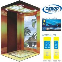Ascenseur de luxe confortable de maison de villa résidentielle de Vvvf de 400kg