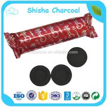 Kokosnuss-Shisha-Holzkohle für das Rauchen