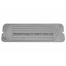 Placa de extremo del intercambiador de calor (igual a M10B / M10M)