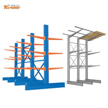 heavy duty double-side cantilever steel storage pipe rack system