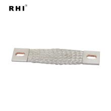 Flexibles Erdungsband mit flachem geflochtenen Erdungsband