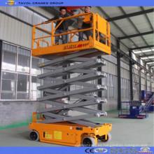 Mesa elevadora de equipos de elevación de tijera hidráulica de 6-18 m