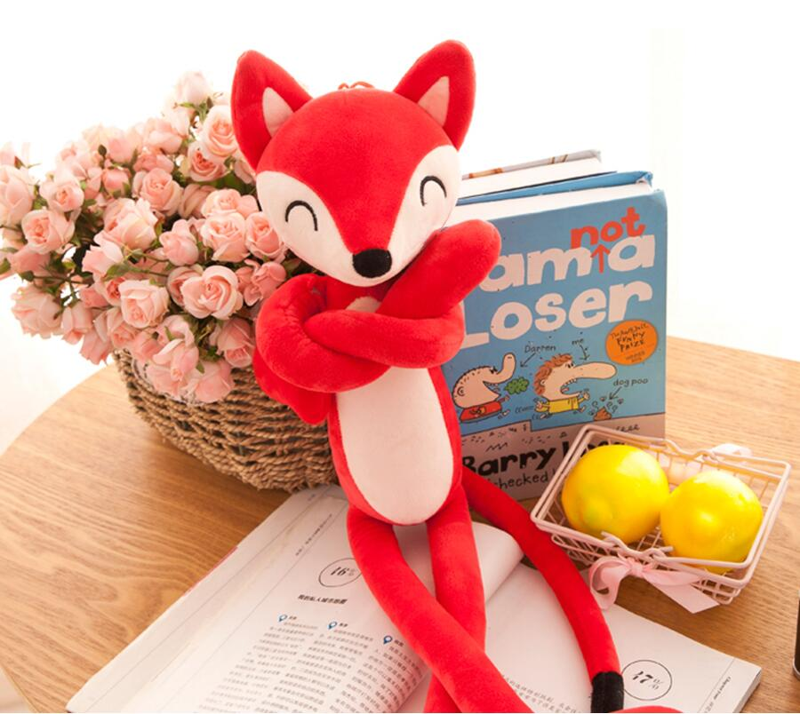 Fox Shaped Plush Toy