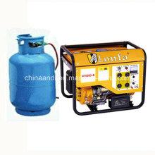 Generador portátil de gas natural de 2.5kVA
