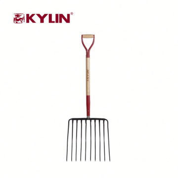 Las herramientas de jardín 2018 chinas forjaron la bifurcación de la echada del acero de carbono con la manija
