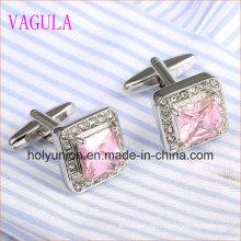 VAGULA Luxury Stylish Men French Shirt Zircon Gemelos 337