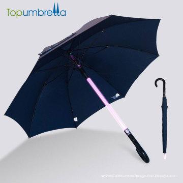 Charged Stick handle led paraguas de luz