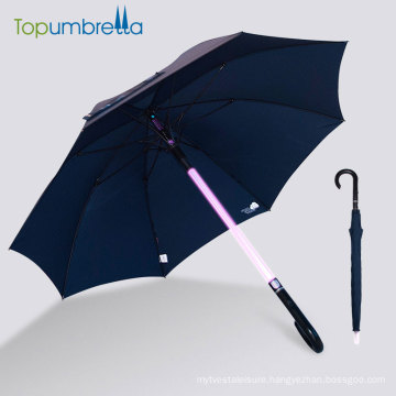 Charged Stick handle led light umbrella
