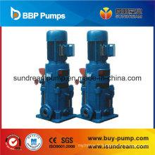 Pompe centrifuge verticale d'eau de pompe d'acier inoxydable de pression