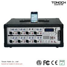8-Kanal-Power-Box PA-Mixer
