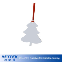 2020 New Arrival Heat Transfer Printing Personalized Christmas Ornaments Wooden MDF Sublimation Blank Ornament Children DIY