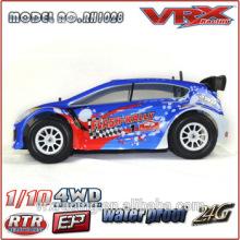VRX corrida 1/10 escala nitro carro modelo do rc de rally, nitro powered rc carro de corrida