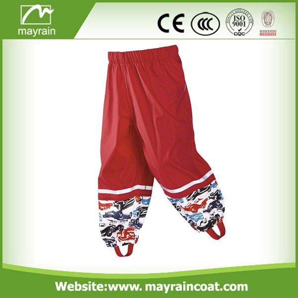 PU/ PVC Kids Rain Pants