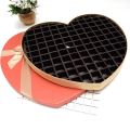 Large heart shape chocolate DIY packaging box