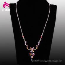 Collar de joyas de piedras preciosas de mujer de nuevo producto