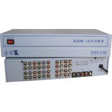 1 x 8 1080p composante/YUV Splitter