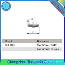 Binzel MB 24KD difusor de gás cerâmico