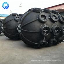 Defensas de goma neumática flotante para barcos con cubierta de neumático para aeronaves