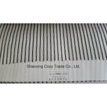 New Popular Project Stripe Organza Voile Sheer Curtain Fabric 0082113