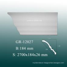 Easy Installion Interior Decoration PU Foam Corner Molding