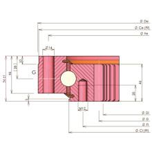 Rollix Light Type Четырехточечный контактный шариковый подшипник (32 0941 01)