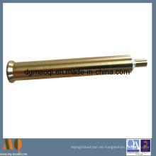 Messing CNC bearbeitete Teile der CNC Drehmaschine Teil (MQ101)