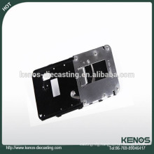 Shen Zhen zinc die casting of phone front cover with profession design