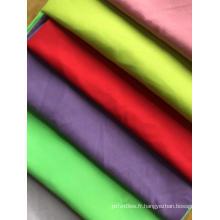 tissu teint en microfibre de polyester