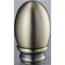 Egg Curtain Rod Finial