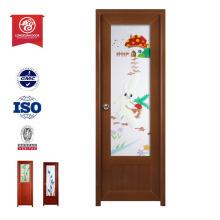 Portas de painel pvc porta pvc de plástico interior porta de madeira