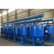 Shallow Sand Filter for River Water Filtration Treatment