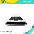 Cristal Asahi de cobertura total 3D para el protector de pantalla Samsung galaxy s7 vidrio templado