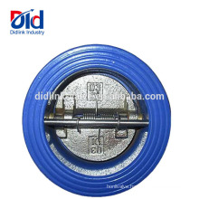 Back Pressure Sewage Toilet Cummin Globe Mini Cast Iron Wafer Type Dual Plate Check Valve Spring Type