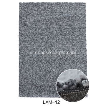 Lantern Space Dyed Garn Hand Hooked Carpet