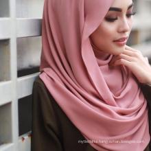 78 colors cheap premium wholesale hijab malaysia women scarf hijab chiffon
