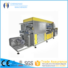 Automatic Plastic Box Vacuum Forming Machine