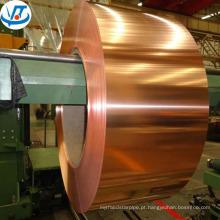 Alibaba China alta qualidade C11000 C12200 folha de placa de cobre 1000 * 2000mm preço de folha de cobre com 99,999% de pureza para venda