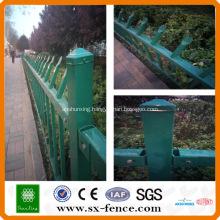 high security zinc steel tube fence