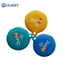 Китай нестандартная Конструкция Поставщиком 13.56 МГц/125 кГц прозрачный желе эпоксидной NFC мини-карты
