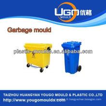 360L et 660L Industrie de la poubelle en plastique, poubelle d'injection en Chine