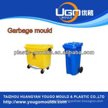 360L and 660L Industry plastic garbage can mould, Injection garbage can mould in China