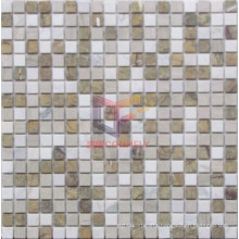 Mixed Color Marble Mosaic Tile (CFS927)