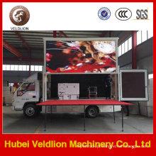 Preço baixo exterior móvel do caminhão do quadro de avisos do diodo emissor de luz do caminhão P10