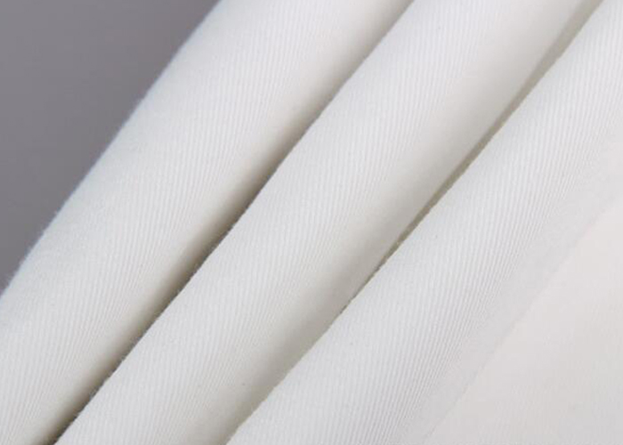 TC White Twill Fabric