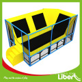 Cheap pequeño trampolín rectangular con red